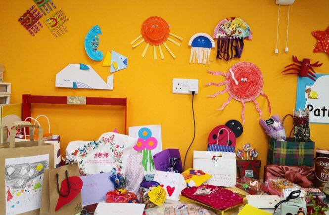 DIY crafts done at school