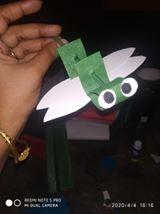paper grasshopper