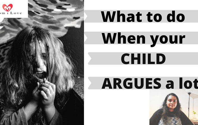 how to deal with an argumentative child