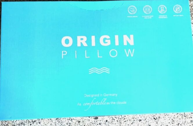 Origin Coolmax Superior Latex pillow
