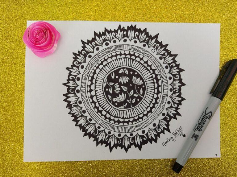 lotus mandala art